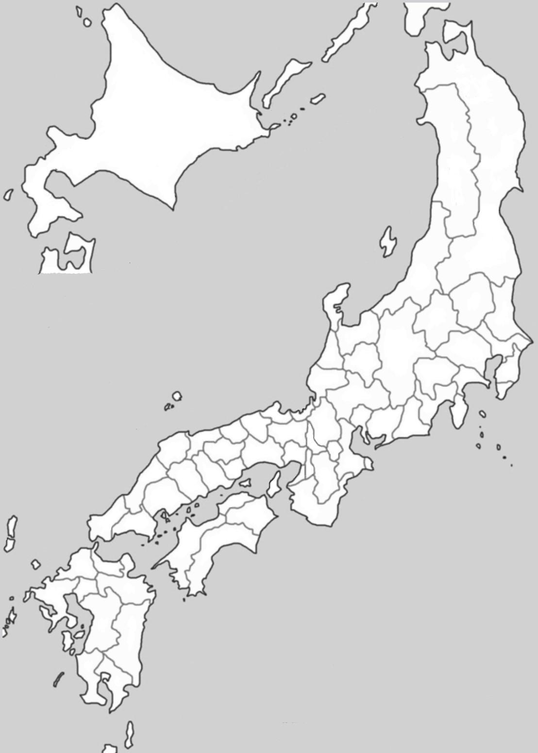 旧 国名 白地図 フリー